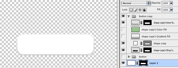 Как сделать button прозрачной